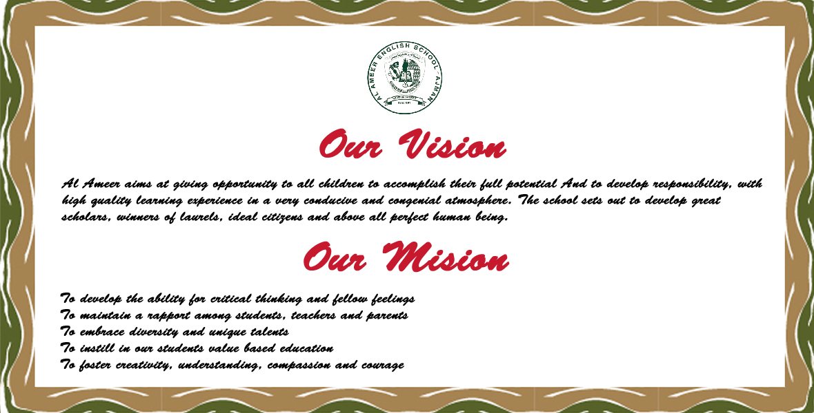 Vision & Mision